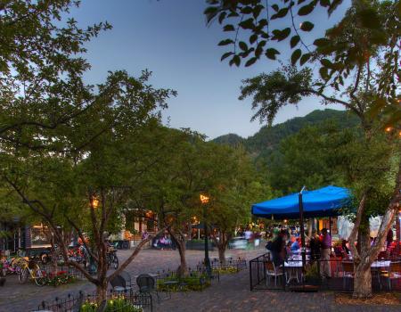 Dining in Aspen